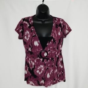 Apt. 9 layered short sleeved shirt. Small